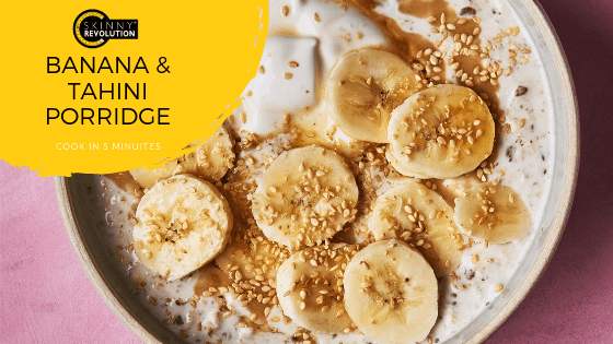 Banana and Tahini Porridge Recipe