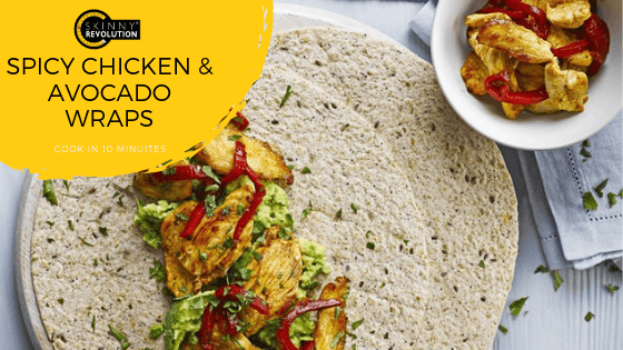 Spicy Chicken and Avocado Wraps Recipe