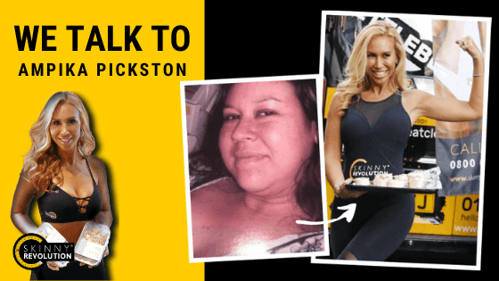 Ampika Pickston's Weight Loss Journey