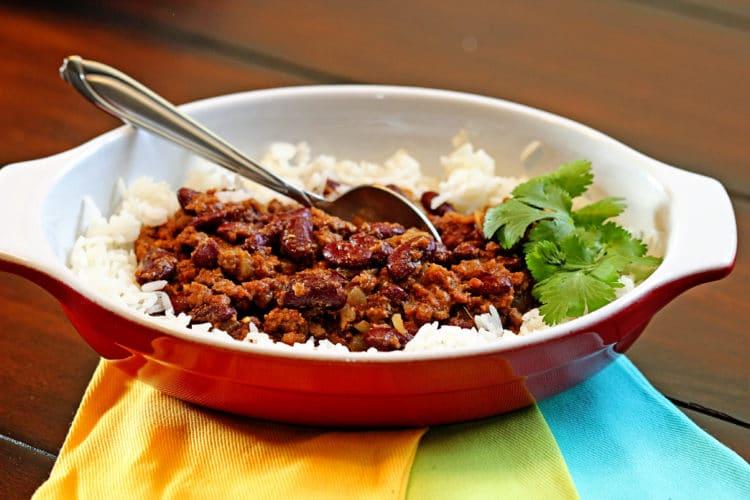 Kidney bean curry Recipe